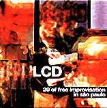 LCD, 20' of free improvisation in são paulo, Cover