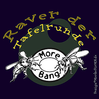More Bang, Kurt Kreft, Gideon Lenz, Raver Der Tafelrunde, Cover