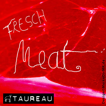 TAUREAU, Fresh Meat, Kurt Kreft, Cover